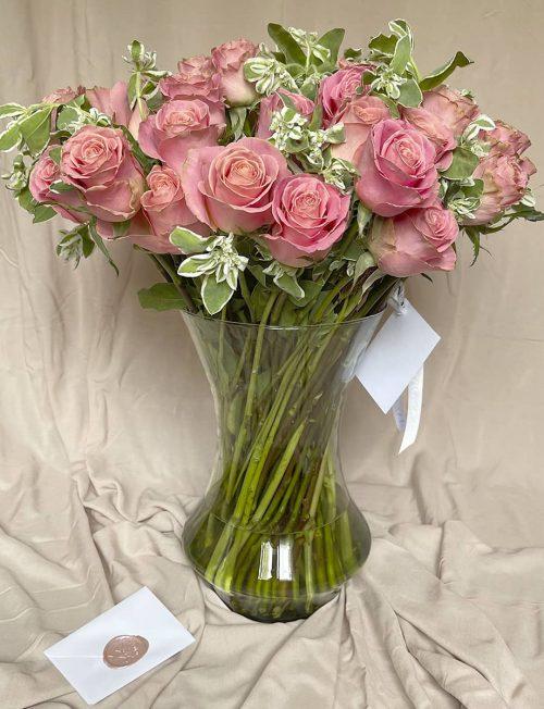 arreglo rosas rosas